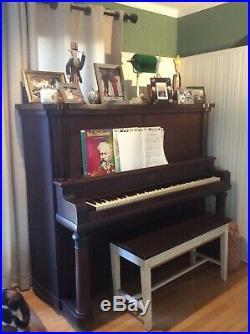 R. S. Howard Upright Piano