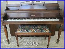 Rare 1946 Steinway & Sons Upright Piano