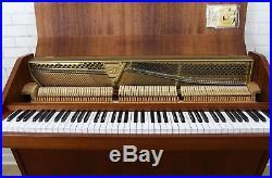 Rare Brodr Jorgensen Mid Century Modern Danish Piano teak baldwin acrosonic