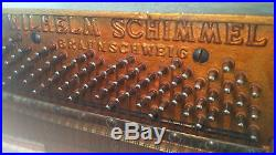 SCHIMMEL FORTISSIMO model 108 upright piano, year 1935