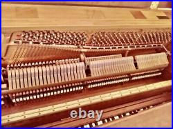 STEINWAY Console Upright piano, Beautiful Wood Finish, Full Rich Steinway Sound