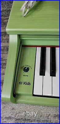 Samick 61 Kids Keyboard Piano Green Student Childrens Keyboard Piano
