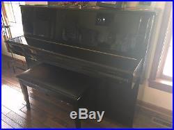 Samick Console Mahogany Piano