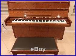 Samick Upright Piano (Excellent Condition)