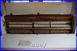 Samick Upright Piano Ivory White Model SU-108P