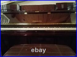 Schafer & Sons VS44 Upright Piano