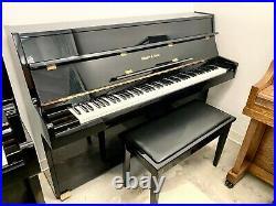 Schafer & Sons VS-40 Upright Piano 42 Polished Ebony