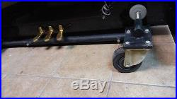 Schaff Piano Truck Dolly Adjustable / Upright Studio Spinet Piano Rubber Wheels