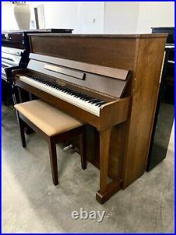 Schiedmayer Upright Piano Satin Walnut