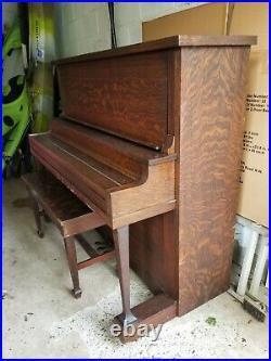 Schiller Upright Grand Piano