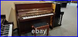Schimmel C120 Walnut Upright Piano (Pre-Owned) Made in Germany in 2005