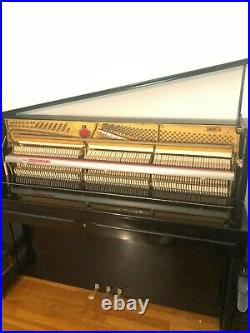 Schimmel C123 Piano Ebony High Glass Excellent Condition