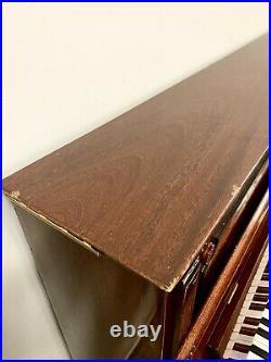 Schimmel Upright Piano 46 Polished Maogany