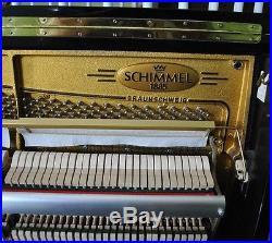 Schimmel Upright Piano Model C130 51 Vertical (1994) $29K (Also Steinway Avl)