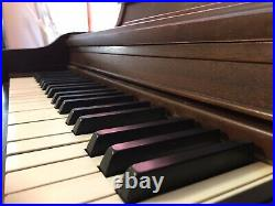 Schmoller and Mueller Upright Piano 88 Key With Bench