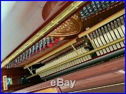 Seiler ED 132 Mahogany Polished Upright