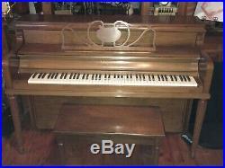 Sohmer Upright Console Piano 34A
