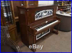 Stafford NICKELODEON PLAYER PIANO O Roll Accordion, Drum, Tambourine see video