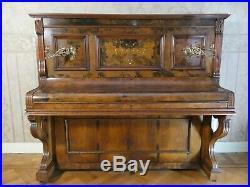 Steinhoff Berlin Piano aus 1904 mit komplett neuem Interieur wie Seiten, Filze
