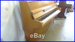 Steinmann Overstrung Piano in Light mahogany Case Inc. Stool & Local Delivery
