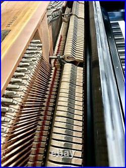 Steinway 1045 Upright Piano 45 Satin Ebony