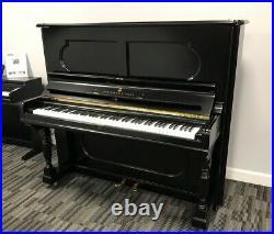 Steinway 54 Upright Piano Picarzo Pianos Ebony Upright F Model VIDEO K