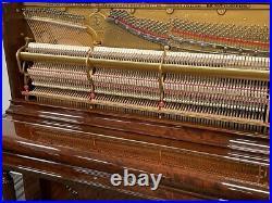 Steinway 54 Upright Piano Picarzo Pianos Mahogany Upright F Model VIDEOS K