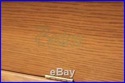 Steinway Boston UP-118S 46'' Upright Piano Honey Oak
