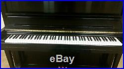 Steinway K52 Ebony Upright withConcert Bench
