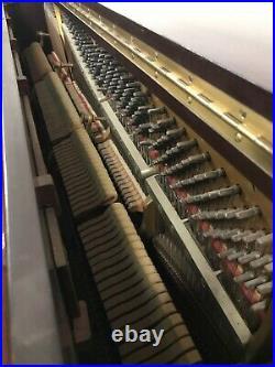 Steinway K-52 Upright Piano 52 Satin Mahogany