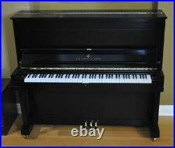Steinway K 52 Upright Piano Picarzo Pianos Ebony Upright 2001 Model