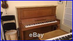 Steinway K Upright Piano