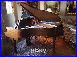 Steinway S Walnut Baby Grand Piano