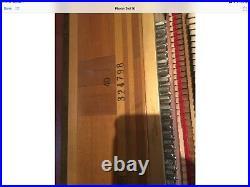 Steinway & Sons Hepplewhite Upright Piano 40 Satin Walnut
