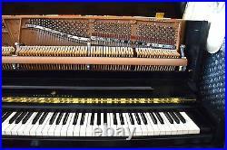 Steinway & Sons Studio Upright Piano 1098 Satin Ebony, Rebuilt