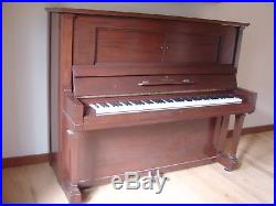 Steinway & Sons Upright 52 Model K 1917 Piano Serial # 182845-Pick Up Only NJ
