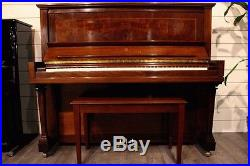 Steinway & Sons Upright Piano Model K 52 American Hand Crafted Instrument