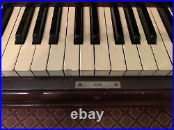 Steinway & Sons Upright Piano Model V 1925 Vintage