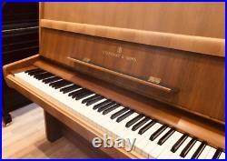Steinway & Sons piano Mod. Z Warranty Walnut Piano