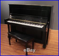 Steinway Traditional K-52 Upright Piano 52'' Ebony Satin 2011