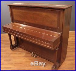 Steinway Traditional K-52 Upright Piano 52'' Mahogany