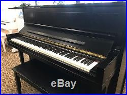 Steinway Upright Piano Ebony Los Angeles 467571