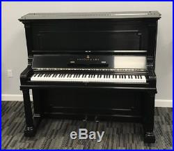 Steinway Upright Piano Model I 54 Vertical GORGEOUS K Ebony VIDEOS
