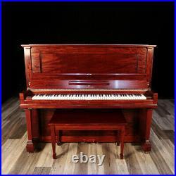 Steinway Upright Piano, Model K