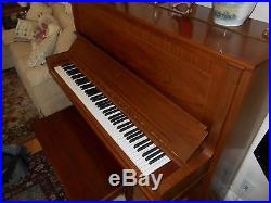 Steinway Upright Piano Model K Beautiful 1985
