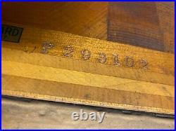 Steinway Upright Piano Satin Mahogany