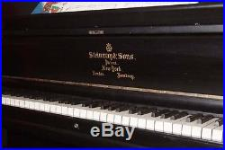 Steinway and Sons Upright Piano Denver Colorado