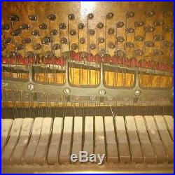 Steinway and Sons Upright Piano Model G, Built in 1883