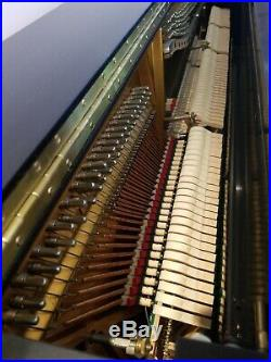 Steinway & sons Ebony K52 upright piano