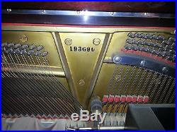 Steinway upright Duo-Art Player Piano